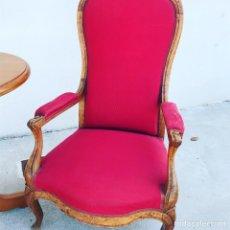 Antigüedades: SILLON DE ROBLE. Lote 176643635
