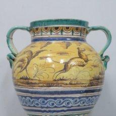 Antigüedades: ANTIGUA ORZA DE CERAMICA. TRIANA. AÑOS 30. Lote 176646142