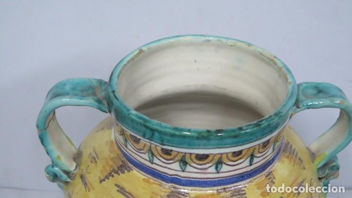 Antigüedades: ANTIGUA ORZA DE CERAMICA. TRIANA. AÑOS 30 - Foto 3 - 176646142