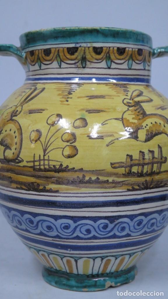 Antigüedades: ANTIGUA ORZA DE CERAMICA. TRIANA. AÑOS 30 - Foto 6 - 176646142