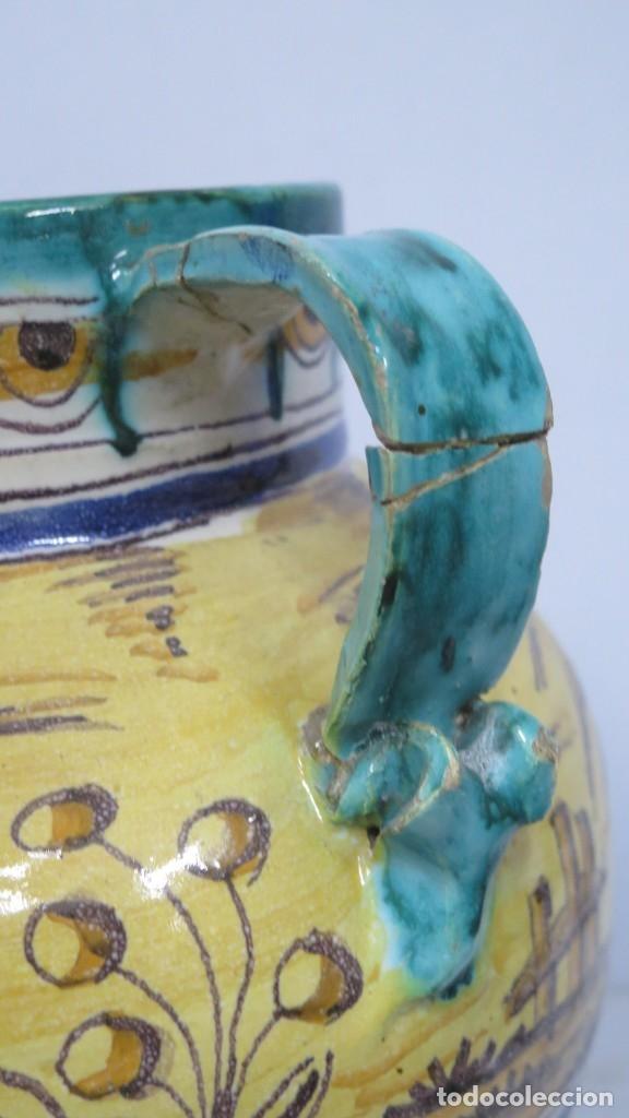 Antigüedades: ANTIGUA ORZA DE CERAMICA. TRIANA. AÑOS 30 - Foto 7 - 176646142