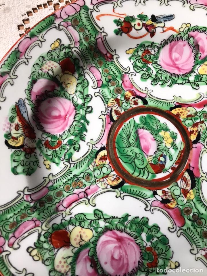 Antigüedades: Plato de porcelana China de Macao antiguo - Foto 2 - 176647337