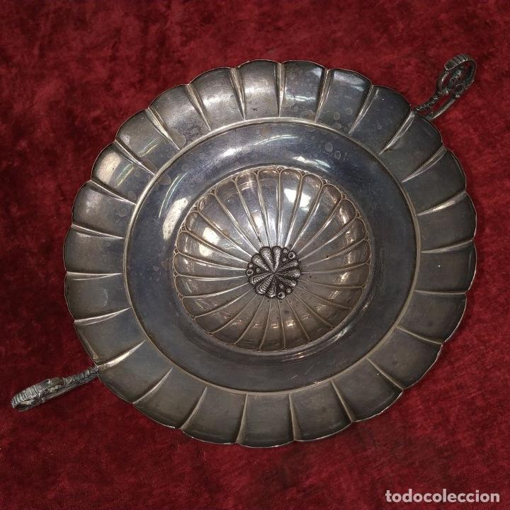 Antigüedades: CENTRO DE MESA. PLATA DE LEY. PUNZONADA. 915/1000. ESPAÑA. CIRCA 1930 - Foto 17 - 176666599