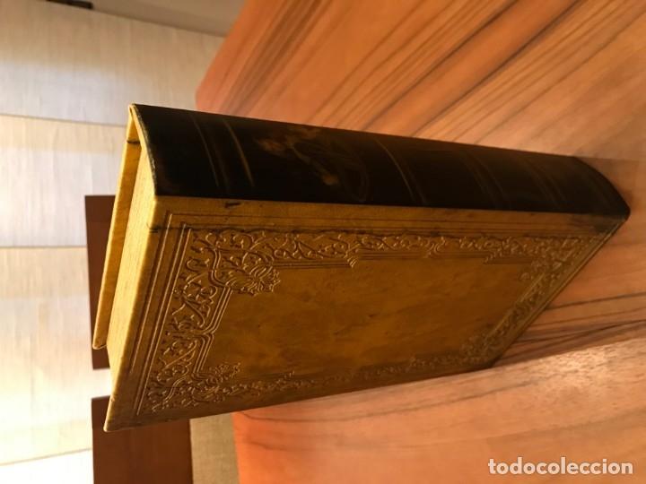 Antigüedades: Antigua caja libro - Foto 3 - 176671614