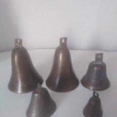 Antigüedades: CAMPANAS ANTIGUAS. Lote 176676704