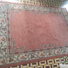 Antigüedades: 227X160 CM GRAN PRECIOSA ALFOMBRA RECTANGULAR SALON IGLESIA CULTOS BESAMANOS VIRGEN SEMANA SANTA. Lote 176683454