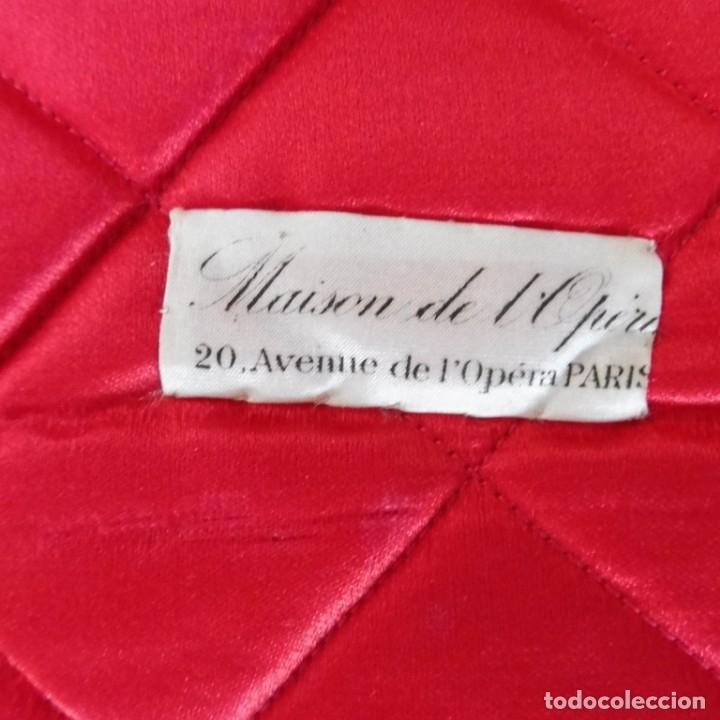 Antigüedades: ANTIGUA CARPETA PINTADA MANUALMENTE PARA ROPA S.XIX - Foto 2 - 176686974