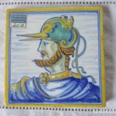 Antigüedades: AZULEJO TALAVERA RUIZ DE LUNA. Lote 176695910