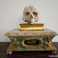 Antigüedades: RELICARIO GERMÁNICO SIGLO XVIII, SAN BENITO DE NURSIA. Lote 176699037