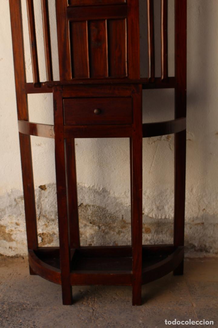 Antigüedades: Mueble de recibidor y/o auxiliar de Teka - Foto 2 - 176716158