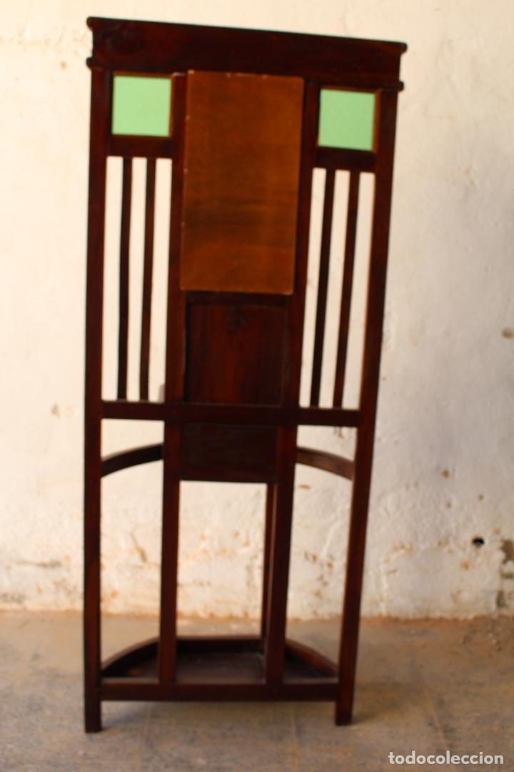 Antigüedades: Mueble de recibidor y/o auxiliar de Teka - Foto 3 - 176716158