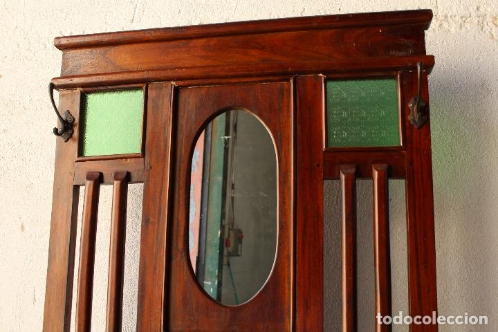 Antigüedades: Mueble de recibidor y/o auxiliar de Teka - Foto 4 - 176716158