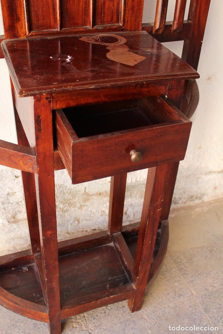 Antigüedades: Mueble de recibidor y/o auxiliar de Teka - Foto 5 - 176716158