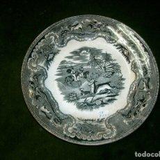 Antigüedades: PLATO CERAMICA CARTAGENA -LA AMISTAD-. Lote 176725407