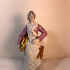 Antigüedades: FIGURA PORCELANA- ÁLVAREZ- ALDEANA- 18 CM. Lote 176730490