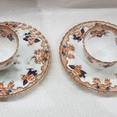 Antigüedades: JUEGO DE PORCELANA ENGLAND E.HUGHES & CO. Lote 176752498