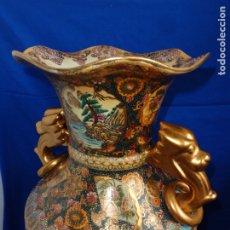 Antigüedades: SATSUMA - IMPRESIONANTE JARRÓN CHINO SATSUMA PINTADO A MANO VER FOTOS Y DESCRIPCION! SM. Lote 176768315