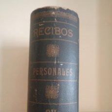 Antigüedades: CAJA CON FORMA DE LIBRO. Lote 176776292