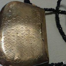 Antigüedades: BOLSO DE LATÓN. Lote 176789339