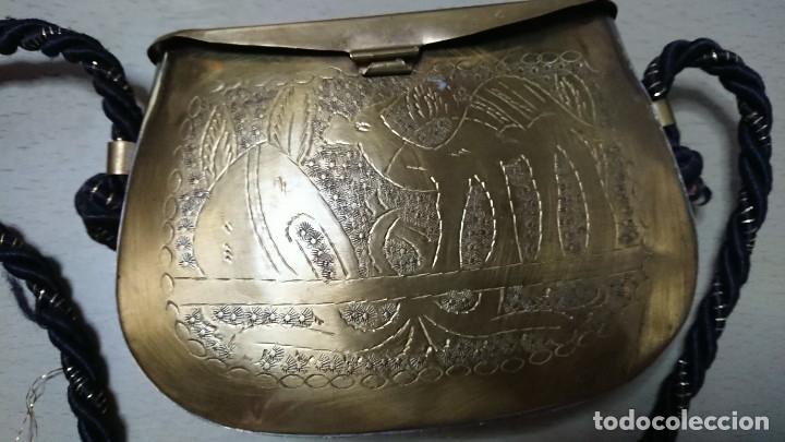 Antigüedades: Bolso de latón - Foto 6 - 176789339