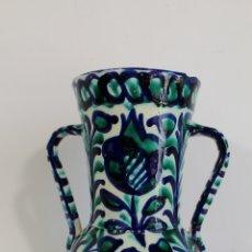 Antigüedades: JARRA EN CERAMICA FAJALAUZA. Lote 176796343