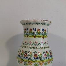 Antigüedades: JARRON EN CERAMICA DE CRUZ - PUENTE DEL ARZOBISPO. Lote 176796470