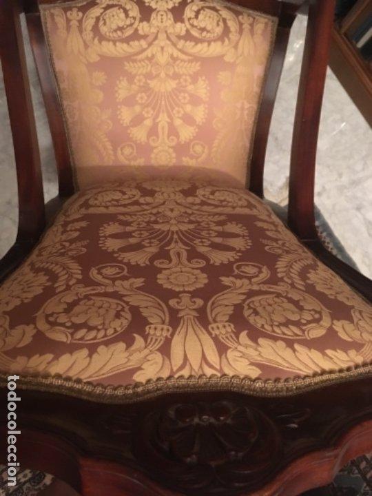 Antigüedades: MECEDORA ANTIGUA DE CAOBA - Foto 4 - 176803585