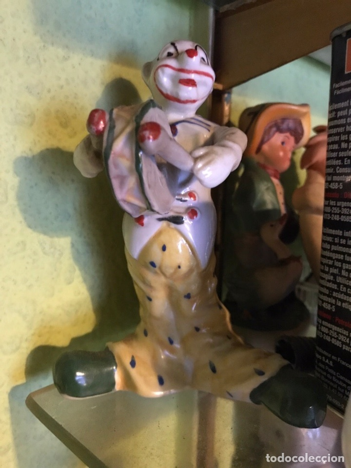 Antigüedades: Figura de porcelana, Payaso, - Foto 2 - 176817568