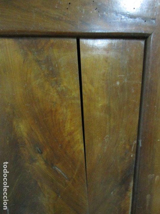 Antigüedades: Antiguo Armario Isabelino - Madera de Nogal - Altura 210 cm - S. XIX - Foto 8 - 176843622