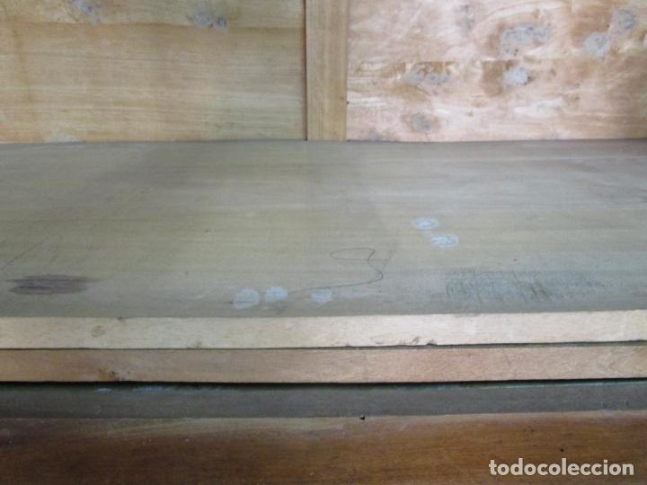 Antigüedades: Antiguo Armario Isabelino - Madera de Nogal - Altura 210 cm - S. XIX - Foto 18 - 176843622