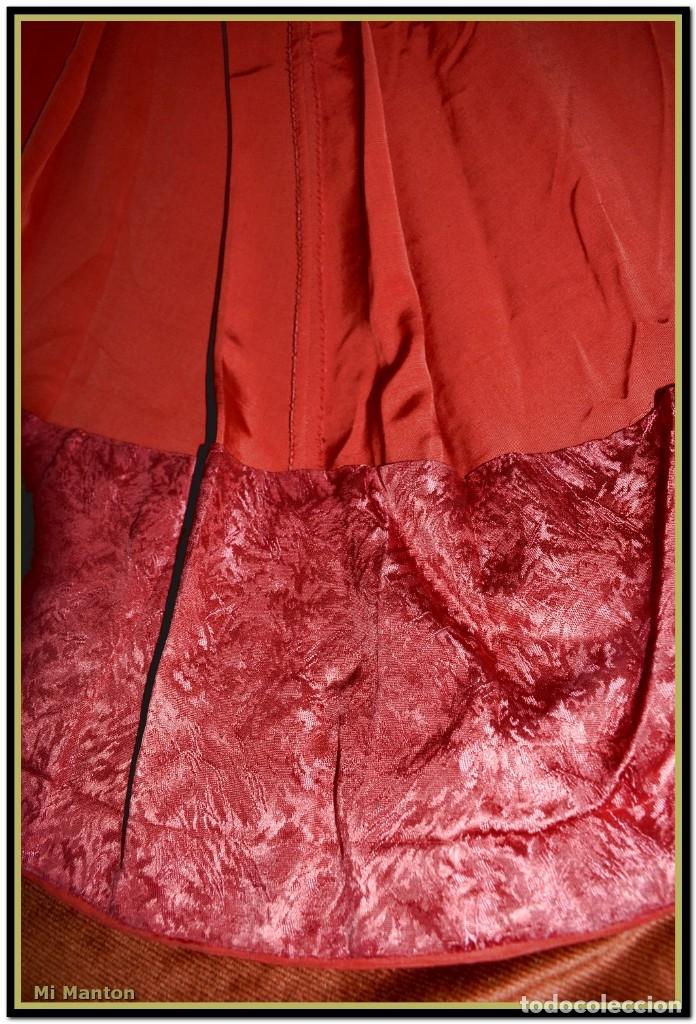Antigüedades: Sotana de monaguillo seda salvaje antigua podria ser infantico del pilar - Foto 6 - 176870714