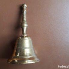 Antigüedades: CAMPANA DE MESA DE BRONCE. Lote 176913592
