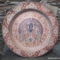 Antigüedades: ESPECTACULAR PLATO DE REFLEJOS MANISES. Lote 176930074