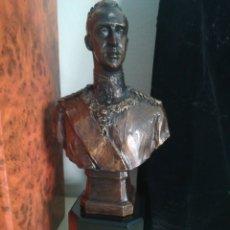 Antigüedades: BUSTO REY EMÉRITO JUAN CARLOS. Lote 176957669