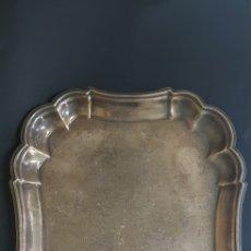 Antigüedades: BANDEJA PLATA MENESES. Lote 176959827