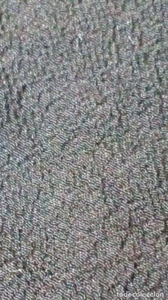 Antigüedades: Antiguo mantón de crespón negro - Foto 15 - 176985819