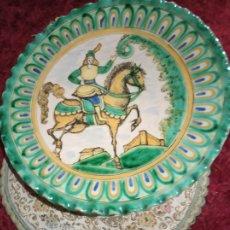 Antigüedades: PAREJA PLATOS PUENTE DEL ARZOBISPO. Lote 176986665