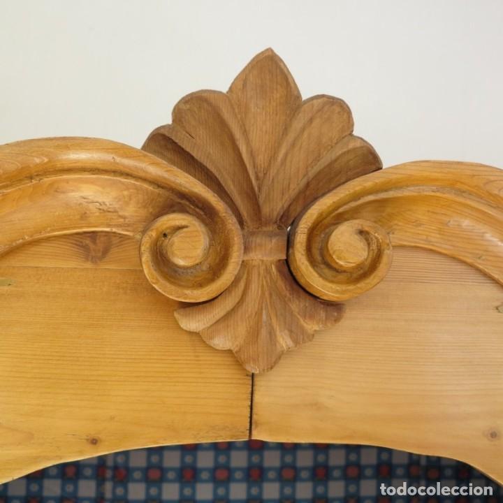 Antigüedades: ANTIGUO ARMARIO de madera de pino natural EN MUY BUEN ESTADO. 1850 - 1880 - Foto 6 - 177004800