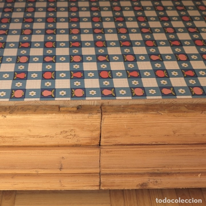 Antigüedades: ANTIGUO ARMARIO de madera de pino natural EN MUY BUEN ESTADO. 1850 - 1880 - Foto 8 - 177004800