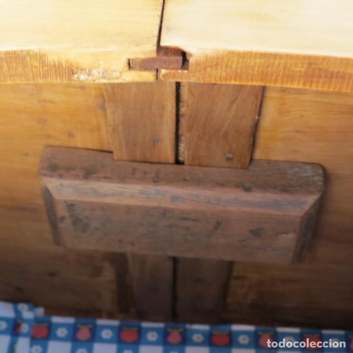 Antigüedades: ANTIGUO ARMARIO de madera de pino natural EN MUY BUEN ESTADO. 1850 - 1880 - Foto 9 - 177004800