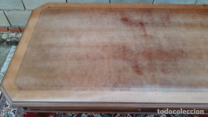 Antigüedades: Escritorio antiguo estilo Luis XVI. Mesa de despacho antigua estilo Luis XVI. Mesa estilo isabelino. - Foto 12 - 177026580