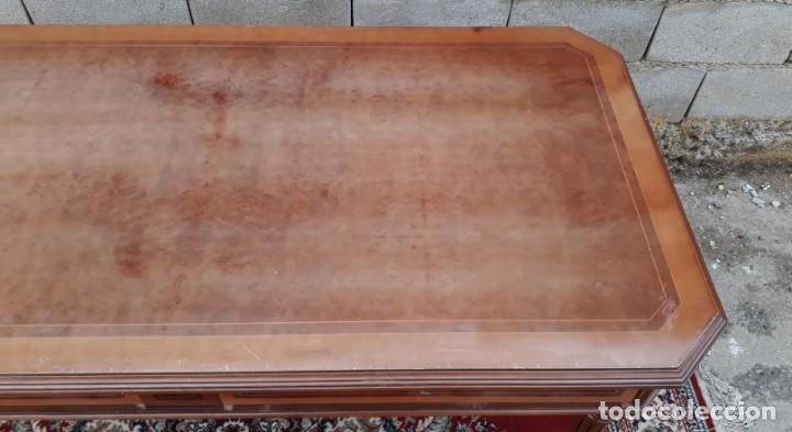 Antigüedades: Escritorio antiguo estilo Luis XVI. Mesa de despacho antigua estilo Luis XVI. Mesa estilo isabelino. - Foto 13 - 177026580