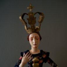 Antigüedades: VIRGEN DOLOROSA / ASUNCIÓN / ASCENSIÓN / TRÁNSITO /DORMIDA. Lote 173860377