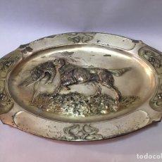 Antigüedades: PAREJA DE BANDEJAS ANTIGUAS. Lote 177039740