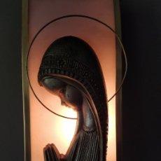 Antigüedades: ANTIGUA VIRGEN NIÑA CON LUZ. Lote 177052459