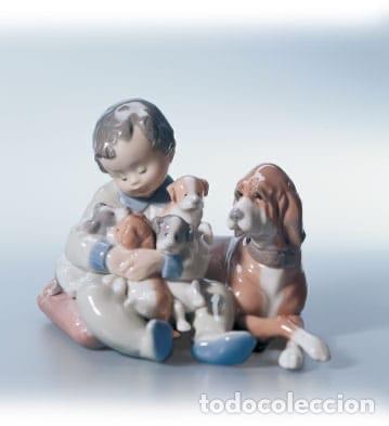 """REF: 01005456 """"MIS AMIGOS"""" LLADRÓ (Antigüedades - Porcelanas y Cerámicas - Lladró)"""