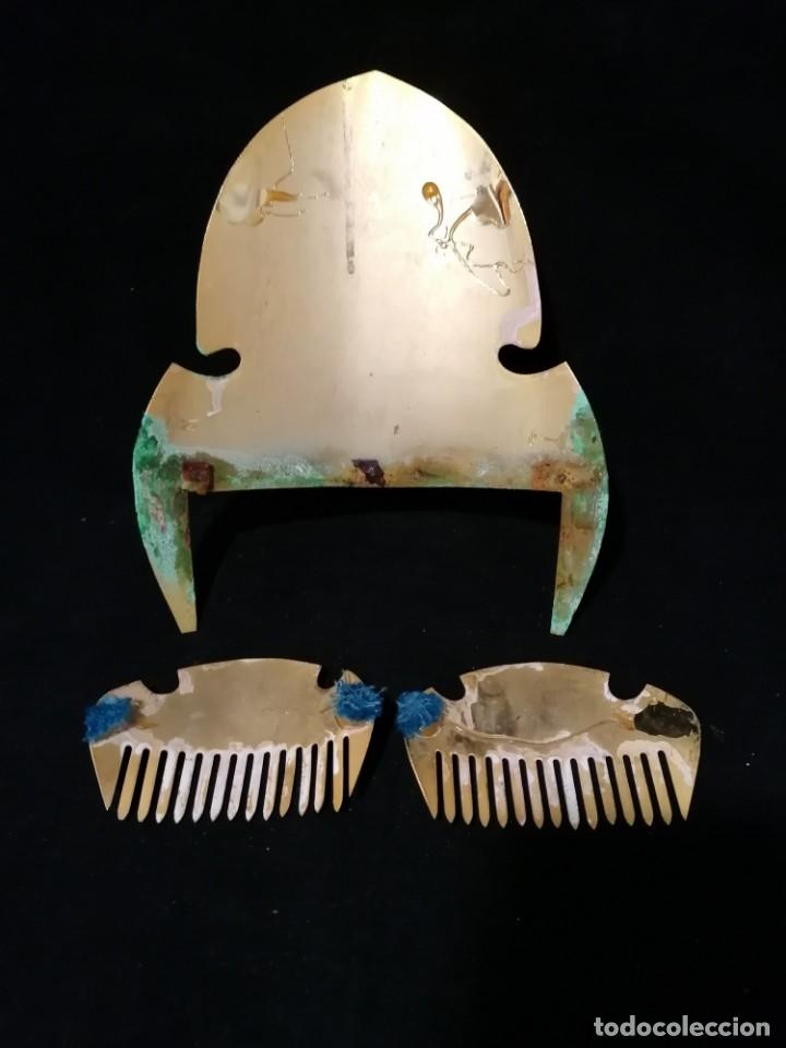 Antigüedades: Antiguas peinetas de fallera - Foto 5 - 177074242