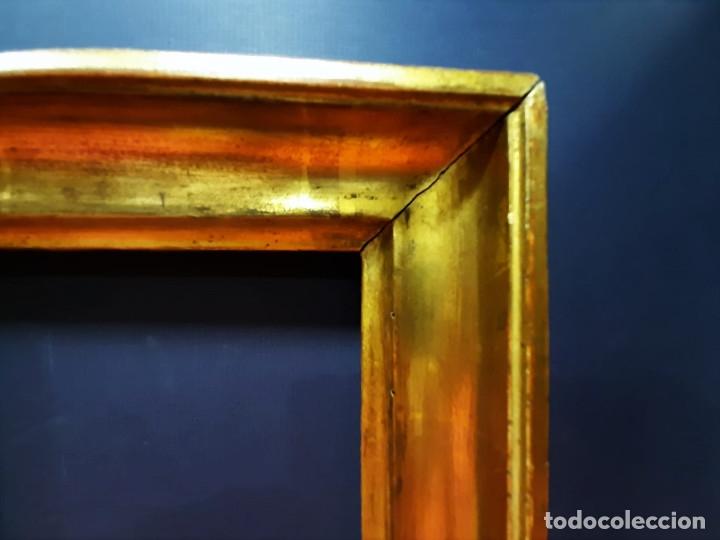 Antigüedades: Marco de madera dorada. Francia, s. XIX. - Foto 2 - 177081083