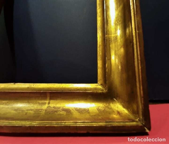 Antigüedades: Marco de madera dorada. Francia, s. XIX. - Foto 4 - 177081083