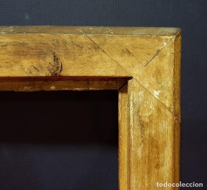 Antigüedades: Marco de madera dorada. Francia, s. XIX. - Foto 5 - 177081083
